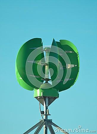 Grön ström för generator