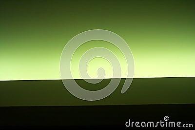 Grönt neon