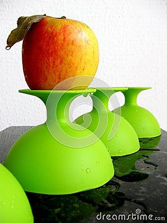 Grüner Plastik