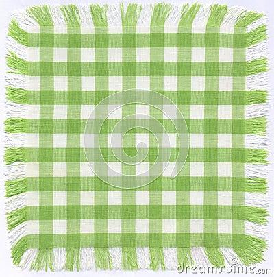 Grünes checkered