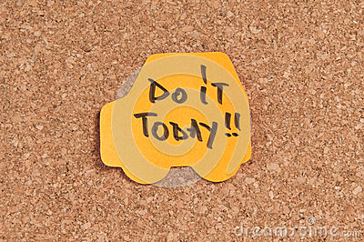 Gör den i dag