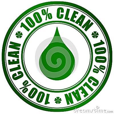 Gör ren produkten
