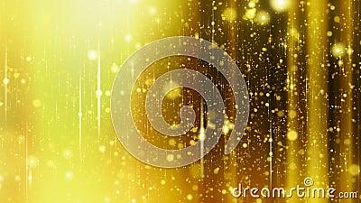 Gra główna rolę tło z racami do i z ostrości, Żółty kolor zbiory wideo