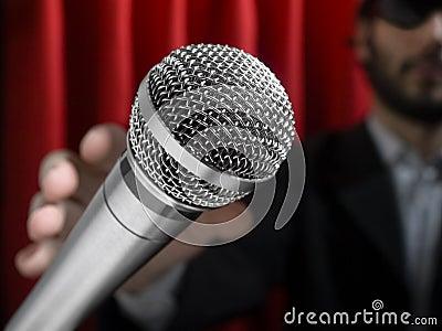 Grab the mic