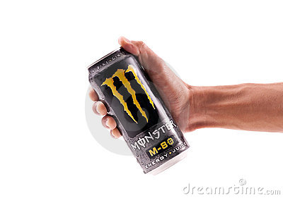 Grabbing Yourself a Monster Editorial Stock Image