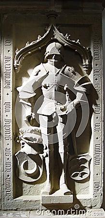 Grabstein des Ritters