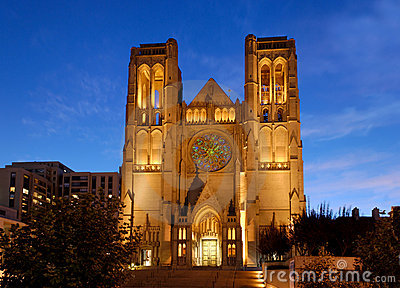 Grace Cathedral in SF