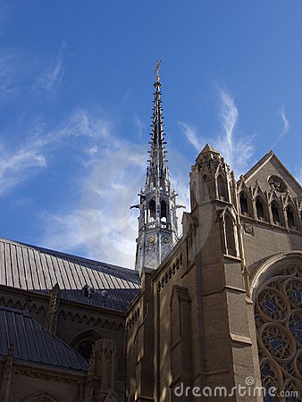 Grace Cathedral and Sky