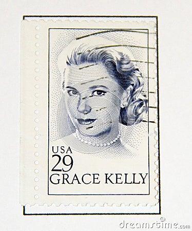 Grace Kelly Editorial Photo