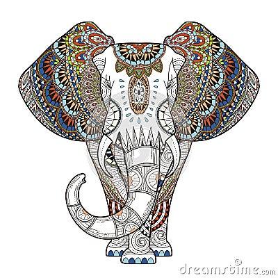 Graceful Elephant Stock Vector Image 60466460