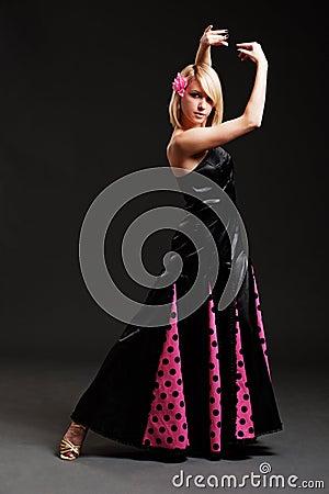 Graceful spanish dancer