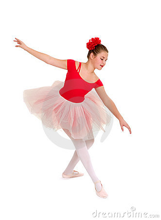 Graceful Young Ballerina