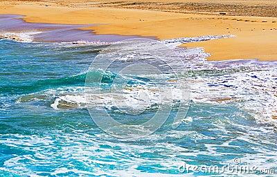Graciosa, Canary islands; Las Conchas beach