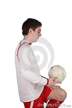Gracz futbolu