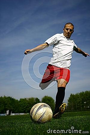 Gracz piłki nożnej -1