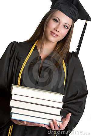 Grad With Books