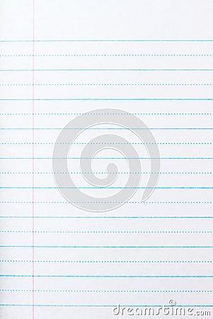 Grade one paper
