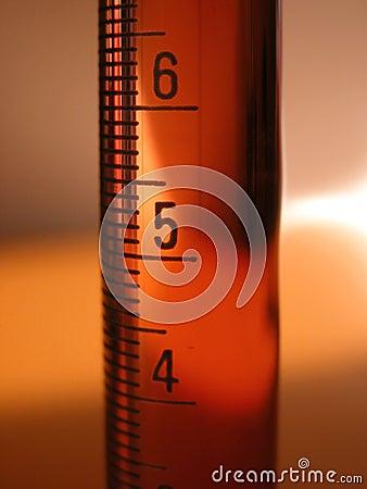 Graderad vetenskap för cylinder