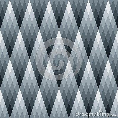 Gradient Diamond Pattern