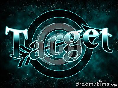 Gradient inscription target