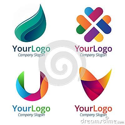 Free Gradient Logo Royalty Free Stock Photography - 47459987