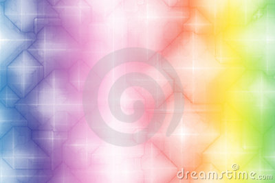 Gradient Rainbow Magical Fantasy Abstract