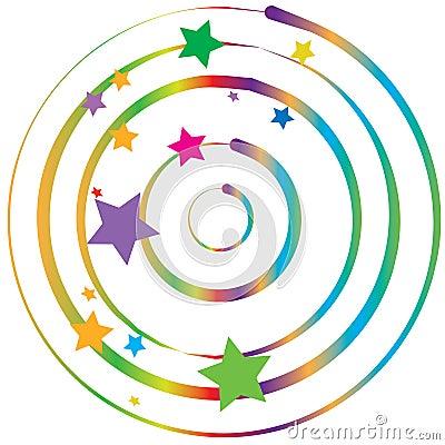 Gradient twist & colorful stars