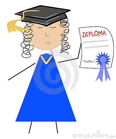 Graduate cartoon