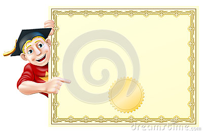 Graduate and certificate
