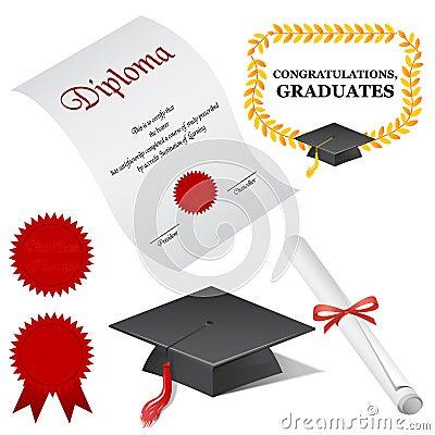 Free Graduate Elements Stock Image - 1558181