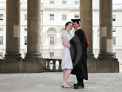 Graduate and his partner
