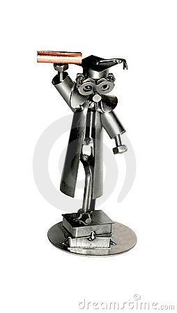 Graduate iron toy