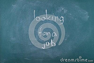 Graduate looking for a job