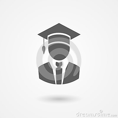 Free Graduate Or Professor In A Mortarboard Hat Royalty Free Stock Images - 40200179