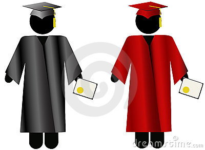The Graduate-Symbol People Graduation Cap & Gown