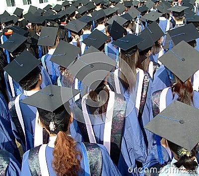 Graduate from university