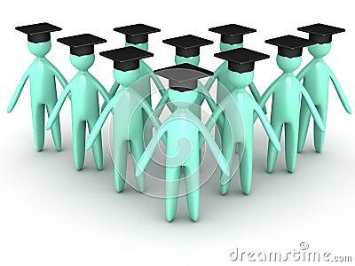 Graduating Cartoon
