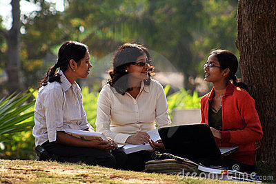 Graduating students Editorial Stock Photo