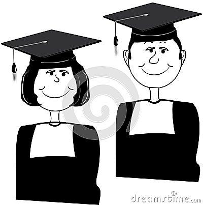 Graduating twins