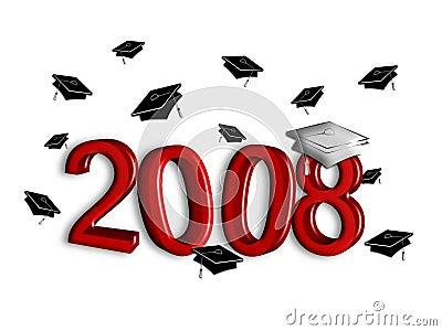 Graduation 2008 - Silver and Garnet