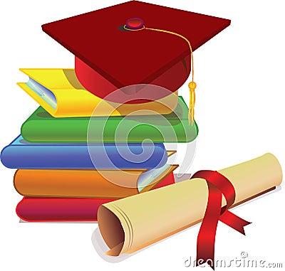 Free Graduation Cap And Degree Stock Photos - 2434563