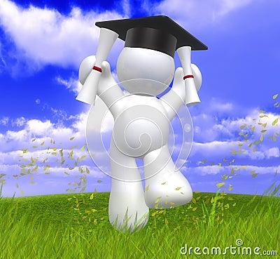 Graduation day happy icon