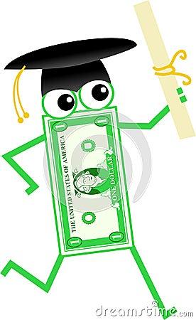 Graduation dollar