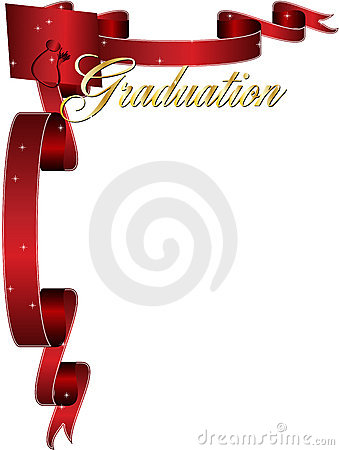 Graduation frame border
