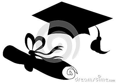 Graduation hat seniors senior diploma