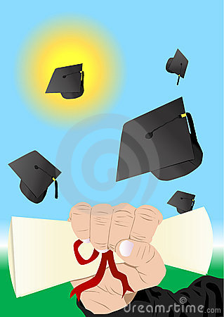 Graduation illustration