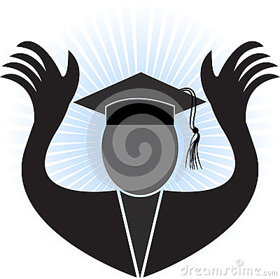 Graduation man