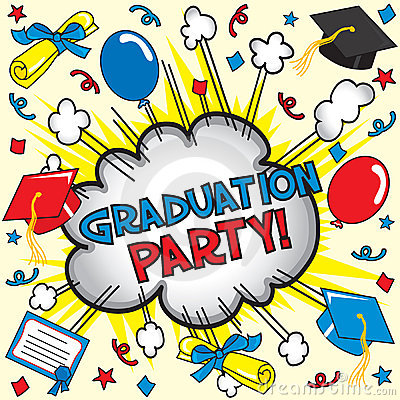Graduation Party! Royalty Free Stock Photography - Image ...