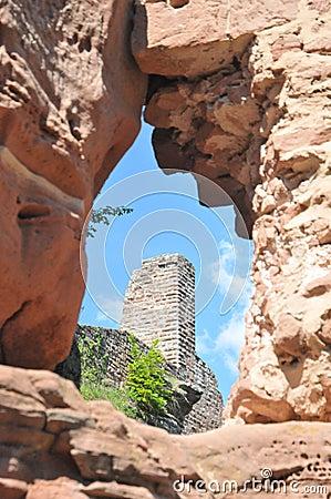 Grafendahn Castle Ruin