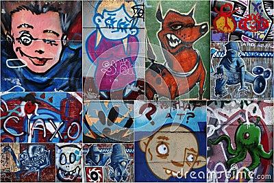 Graffiti Editorial Image